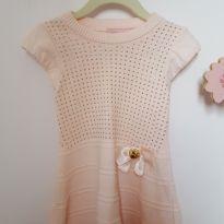 Vestidinho em linha rosa - 2 anos - Pituchinhus