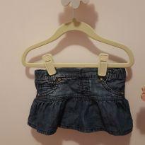 Sainha jeans fofaaaa PaolaDa Vinci - 2 anos - Paola Da Vinci