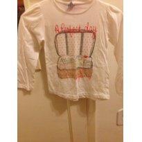 camisa malha manga comprida Zara - 4 anos - Zara
