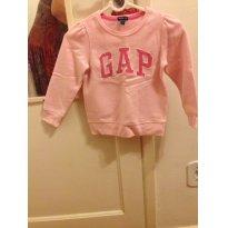 casaco blusa Gap rosa - 4 anos - GAP