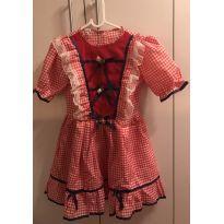 Vestido caipira - 9 anos - Marca não registrada
