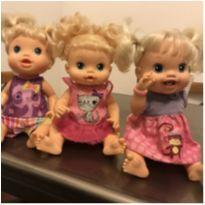 Bonecas baby alive dentinho , médico e cabelinho -  - Baby Alive