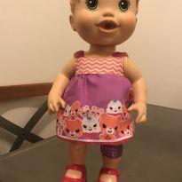 Boneca Loira Baby Alive Machucadinho -  - Baby Alive