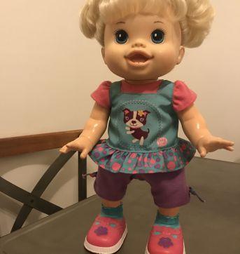 Baby Alive Baby Wanna Walk Doll, Blonde - Sem faixa etaria - Baby Alive
