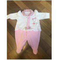 Macacão Rosa Plush Petutinha - Recém Nascido - Petutinha