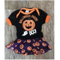 Body Vestido Fantasia Halloween - 3 meses - CLUBINHO
