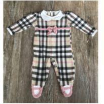 Macacão Xadrez Alô Bebe - 3 meses - Alô bebê