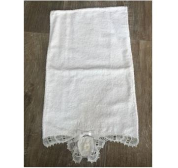 Toalha Batizado Branca Nome Manuela - Sem faixa etaria - Artesanal