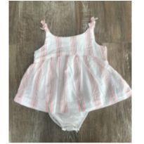 Vestido Body de Alcinha - 0 a 3 meses - Baby Club