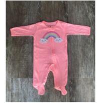 Macacão Arco Iris Neon Carter's - 3 meses - Carter`s