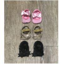 Kit 3 pares de meia sapatilha Puket 2 - Recém Nascido - Puket