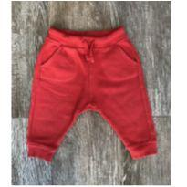 Calça Moletom Vermelha Zara - 3 a 6 meses - Zara