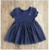 Vestido Azul Tule Carter's - 6 meses - Carter`s