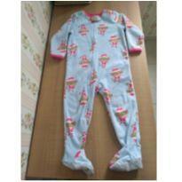 Pijama macacão fleece - 2 anos - Carter`s