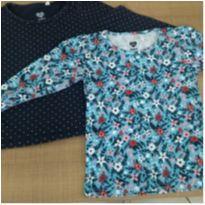 Kit duas camisetas manga longa - 2 anos - Baby Club