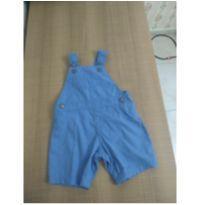 Jardineira azul claro - 3 a 6 meses - Baby Club
