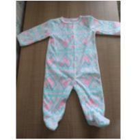 Macacão pijama delicado - 3 meses - Carter`s