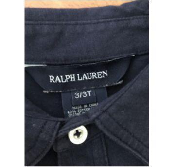 Camiseta manga longa Polo Ralph Lauren - 3 anos - Ralph Lauren