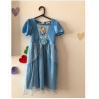 Vestido Cinderela Fantasia - 3 anos - Sem marca