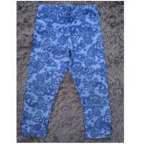 Legging Floral azul - 4 anos - Carinhoso
