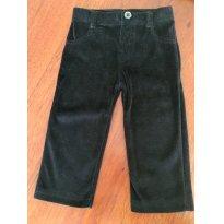 Calça veludo preta - 12 a 18 meses - Garanimals