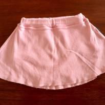 Saia rosa bb básico - 12 a 18 meses - BB Básico