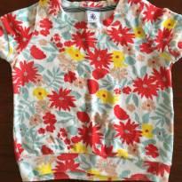 Camiseta atoalhada Petit Bateau - 2 anos - Petit Bateau