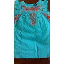 Vestido Bordado Baby Gap - 2 anos - Baby Gap