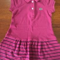 Vestido Lacoste - 2 anos - Lacoste