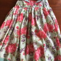 Vestido delicado Flores - 2 anos - Não informada