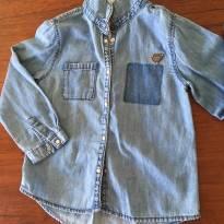 Camisa Zara Jeans - 2 anos - Zara