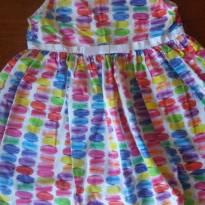 Vestido lindo Macaron! - 3 anos - Vrasalon