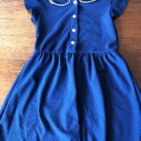 Vestido Marinho - 5 anos - ponderado