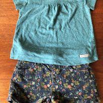 Conjunto verde - 2 anos - Green e Zara