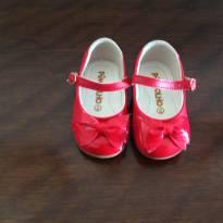 Sapato vermelho Pimpolho nº 18 - 18 - Pimpolho