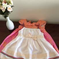 Conjunto de dois vestidos - 1 ano - Não informada