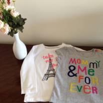 Conjunto camiseta Carters e Oshkosh - 1 ano - OshKosh e Carter`s