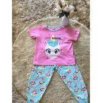 Pijama Puket unicórnio - 1 ano - Puket