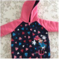Jaqueta com capuz Minnie tamanho 04 - 4 anos - Não informada
