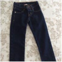 Calça jeans menina tamanho 04 - 4 anos - Não informada