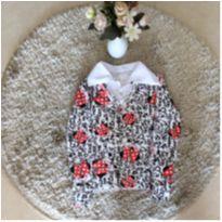 Blusa manga comprida estampa Minnie 04 anos - 4 anos - Não informada