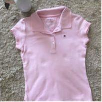 Camisa polo rosa Tommy Hilfiger tamanho 5/6 - 5 anos - Tommy Hilfiger