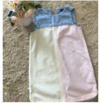 Vestido GAP jeans candy colors tamanho 04 - 4 anos - Baby Gap