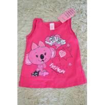 Blusa Fashion Lilica Pink - 3 a 6 meses - Lilica Ripilica