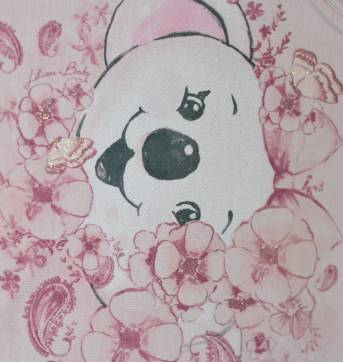 Blusa Regata Baby Lilica -rosa - 6 a 9 meses - Lilica Ripilica