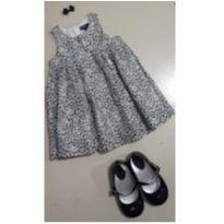 Vestido Oncinha - 6 a 9 meses - Baby Gap