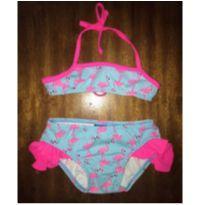 Biquini Flamingos - 1 ano - Kid Stok