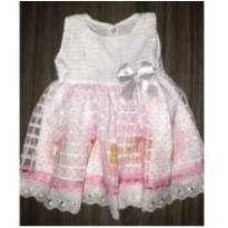 Vestido ursinhos - 3 a 6 meses - Dijele