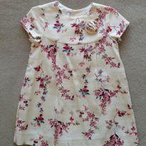 Vestido Zara Floral - 2 anos - Zara e Zara Baby