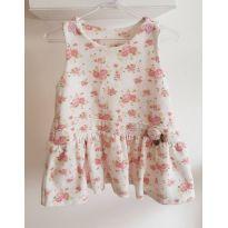 vestido de princesa floral - m - 9 meses - ZigMundi